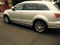 """Audi Q7 20"""" alloys with brand new tyres"""
