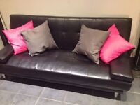 Black SOFA good condition!!!