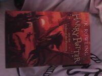 Harry Potter order of Phoenix book