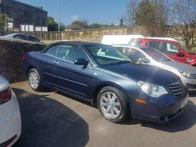 2009 09 Chrysler Sebring limited 1.9 Diesel convertible **low mileage example**