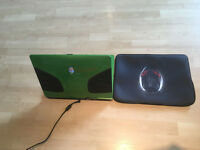 ALIENWARE M9700 GREEN AND BLACK 17.3 INCH LAPTOP + FREE SLEEVES, SALES