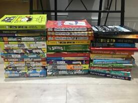 Boys books complete reading years 6 to 11 years old