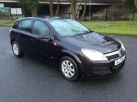 Vauxhall Astra Club. Black. 1.7 CDTI 2005. MOT to July 2017