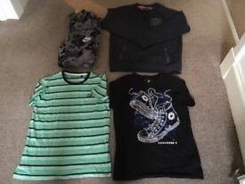 Bundle of boys clothes age 11–12 yrs