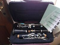 Clarinet Yamaha YCL-250 full set in mint condition for sale