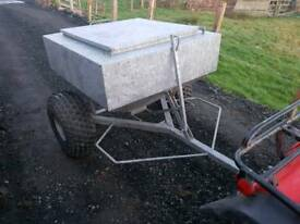 Quad atv sheep snacker feeder farm livestock tractor