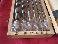 Toolmaster Auger Drill Bit Set of Six Unused