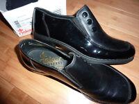 Ladies black leather Reiker Antistress shoes size 6 1/2 new