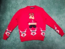 Christmas Jumper, Age 5-6 Years, very good condition