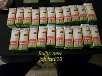 Bulbs new job lot