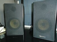 1 PAIR ACTIVE STUDIO MONITORS