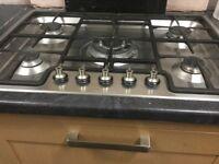 SMEG 5 Burner Gas Hob for sale