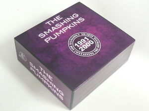 THE-SMASHING-PUMPKINS-5-CD-Album-Promo-Box-1991-2000-Numbered-Gish-Siamese-Dream