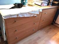 Chest of 3 drawers x 2