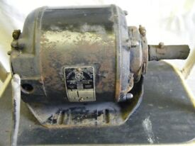 1/4HP Single phase electric motor 1425 RPM
