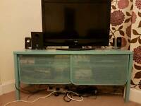 Ikea Nittrop metal TV cabinet