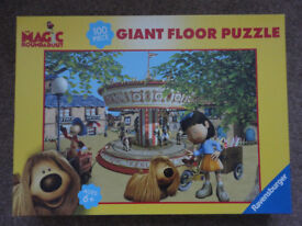The Magic Roundabout 100 Piece Giant Floor Jigsaw Puzzle By Ravensburger