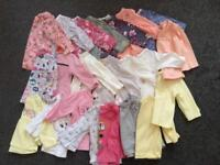 Job lot baby girls clothes aged 3-6 months 70 items
