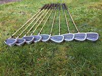 WIlson Pro Staff PT set of irons 3-9 plus PW & SW - BARGAIN