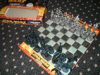 Star Wars Saga chess set
