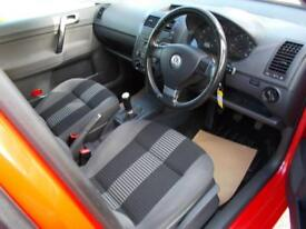 VOLKSWAGEN POLO 1.2 MATCH 5d 59 BHP (red) 2008