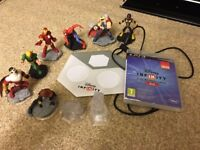 Disney Infinity 2.0 for PS3 with figures