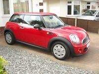 Mini First, Red, Manual, Petrol, One owner, 6 months MOT, Immaculate Condition
