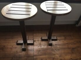 Unique, quirky solid wooden side tables or coffee tables