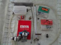 radio control engine and other parts