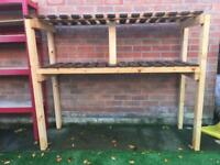 Home made shelve for shed or garage