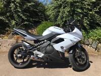 For Sale: Kawasaki ER-6F motorbike white