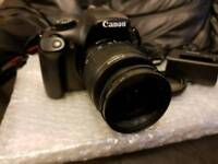 Canon DSLR 1100D camera with video recording