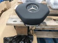 Mercedes Benz A Class C Class AMG, Sports Steering Wheel Air Bags 2013 2018