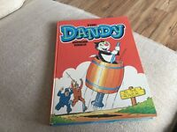 DANDY ANNUAL DATED 1982 UNCLIPPED NO DEDICATION