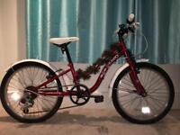 """Apollo Ivory bike 20"""" wheels age 6/10"""