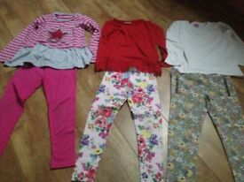 Girls age 6 bundle of outfits