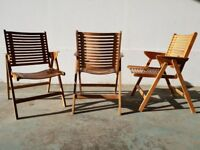 REX FOLDING CHAIR LOUNGE SET DELIVERY AVAILABLE