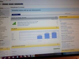 Ebay shop, stock and separate website, run your own business great opportunity, running 10 years.