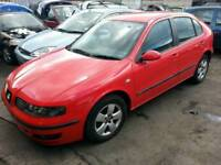 Seat Leon red 2003 tdi breaking for parts