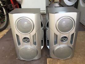 A pair of GOODMANS speakers