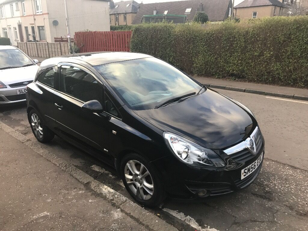 clean lady owner 2006 vauxhall corsa d 1 3 cdti sxi in corstorphine edinburgh gumtree. Black Bedroom Furniture Sets. Home Design Ideas
