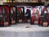 "Star Wars Episode 1 1998 12"" Poseable Figures"