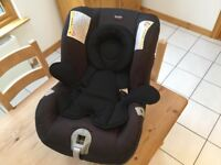 Barely used, Britax First Class Plus PX, Black Thunder Car Seat.