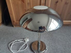 Ikea Afton Chrome Touch Beside Table Lamp