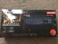 Azolt gCrusader light up gaming keyboard