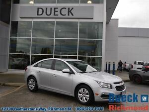 2016 Chevrolet Cruze LT w/1LT  Remote Start - Accident Free - Su