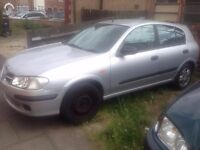 Breaking 2001 Nissan Almera E for spares 1.5 Petrol Silver