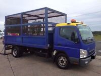 2008 Mitsubishi Fuso Canter Dropside Tipper 7.5 Tonnes....Finance Available