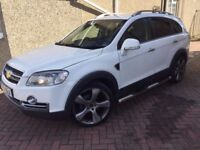 2010 Chevrolet Captiva, 36k only, long MOT, leather + sun roof + NAV.