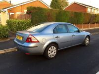 Ford Mondeo, 2005, Blue, 6 SPEED, 2.0tdci Diesel, NEW SHAPE, 139k Low Miles, Service History